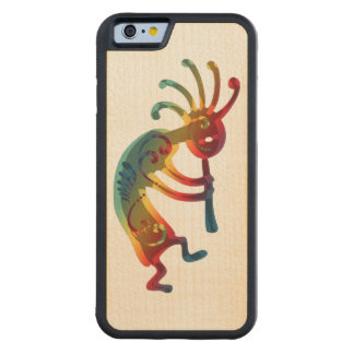 KOKOPELLI ornaments + your ideas Carved Maple iPhone 6 Bumper Case