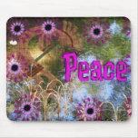Kokopelli Peace Mouse Pad