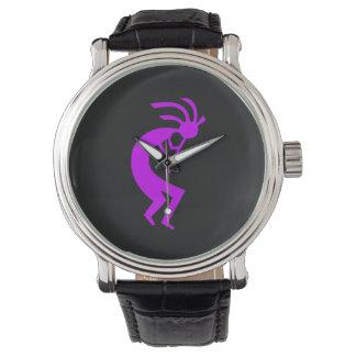 Kokopelli Purple Wristwatch