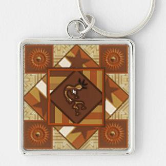 Kokopelli Quilter's KeyChain Key Chain