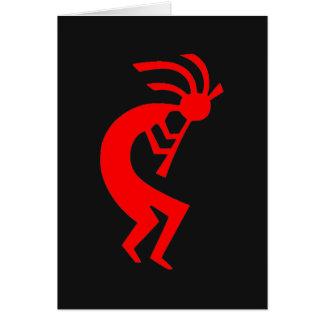 Kokopelli Red Card