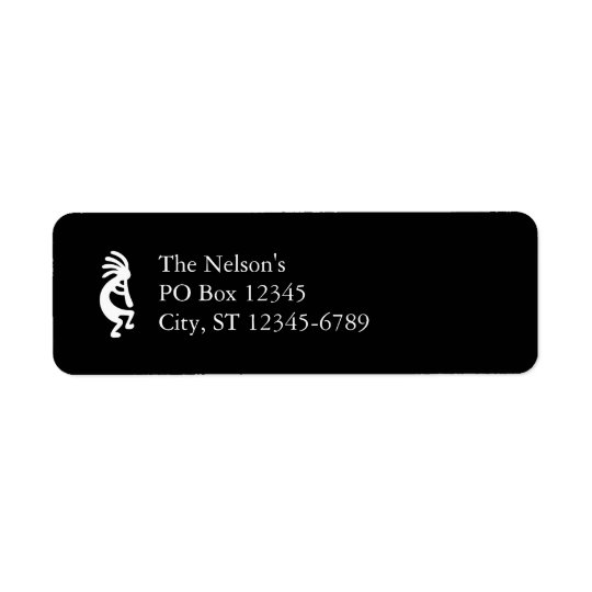Kokopelli Return Address Label