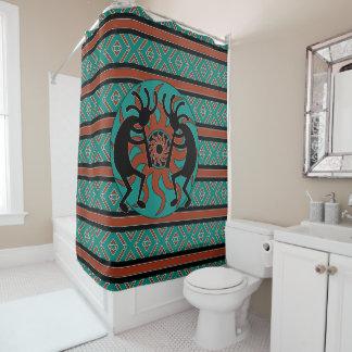 Kokopelli Tribal Sun Shower Curtain