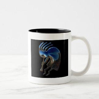 KOKOPELLI Two-Tone COFFEE MUG