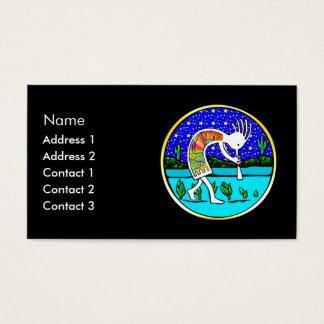 Kokopelli Under the Stars Business Card