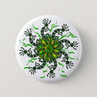 Kokopelli Wheel Button