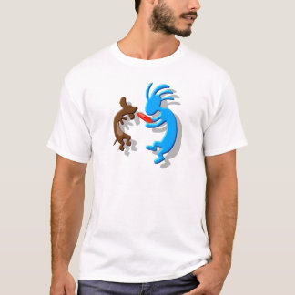 Kokopelli Wiener Dog T-Shirt