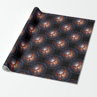 kokopelli wrapping paper
