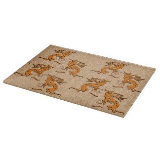Kokopellis In A Row Cutting Board