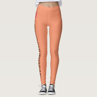 Kokoshungsan Leggings, orange Leggings