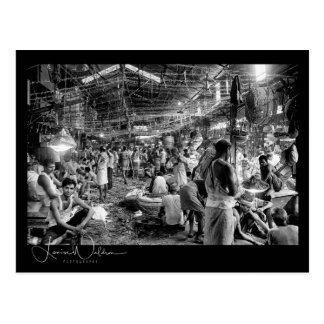 Kolkata Fruit & Veg Market Postcard