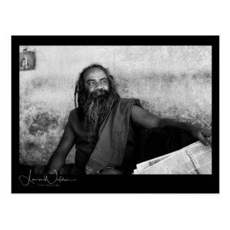 Kolkata Holy Man Postcard