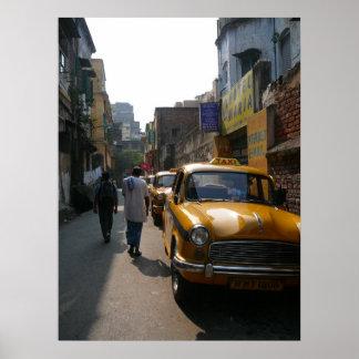 Kolkata Scene Poster