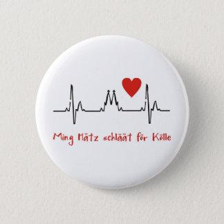 Köln 6 Cm Round Badge