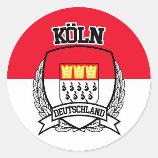 Köln Classic Round Sticker
