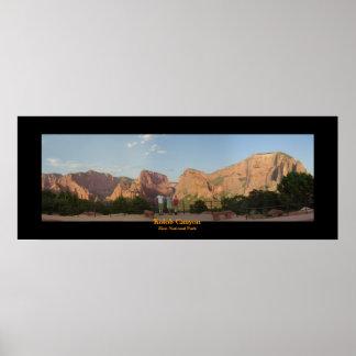 Kolob Canyon Poster