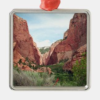 Kolob Canyons, Zion National Park, Utah, USA 4 Metal Ornament