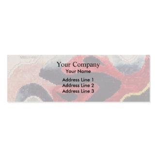 Koloman Moser- Backhausen Interior Texiles Business Card Template