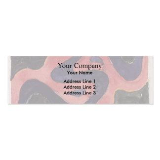 Koloman Moser- Backhausen Interior Texiles Business Card