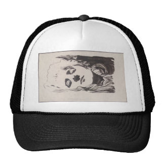 Koloman Moser- Sketch of emblem to 'Ver Sacrum' Mesh Hat