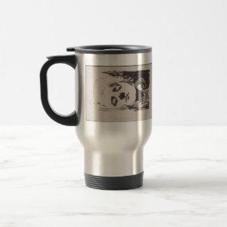 Koloman Moser- Sketch of emblem to 'Ver Sacrum' Mug
