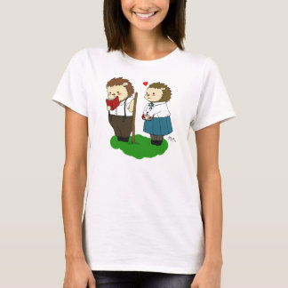 """Kolya and Melaniya """"Love"""" t-shirt"""