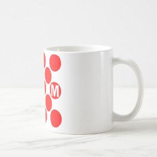 KOM Red Dots Mug