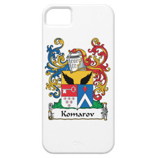 Komarov Family Crest iPhone 5 Covers