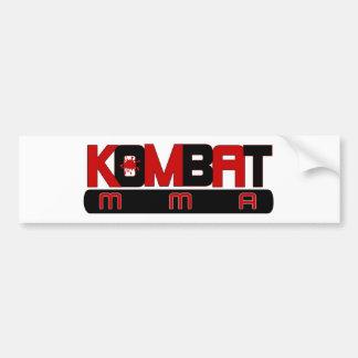 KOMBAT MMA BUMPER STICKER