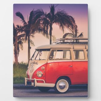 kombi fornia photo plaques