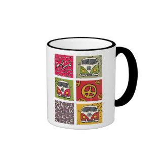 Kombi Lovers Ringer Coffee Mug