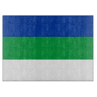 Komi Flag Cutting Board