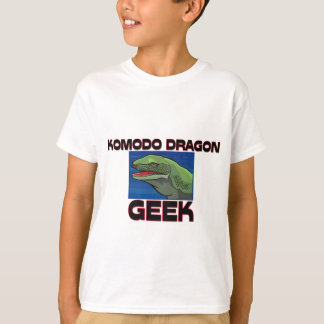 Komodo Dragon Geek T-Shirt