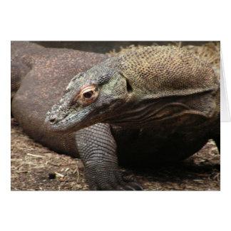 Komodo Dragon Photo Greeting Card