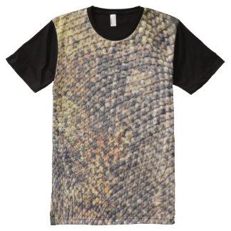 Komodo Dragon Skin T-Shirt All-Over Print T-Shirt