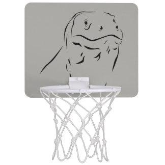 Komodo Silhouette Mini Basketball Hoop