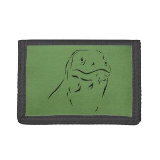 Komodo Silhouette Tri-fold Wallets