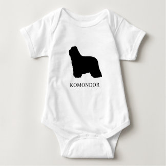 Komondor Baby Bodysuit
