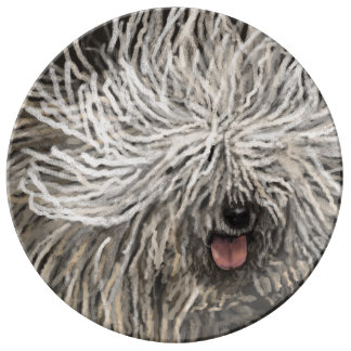 Komondor called Marlet Plate