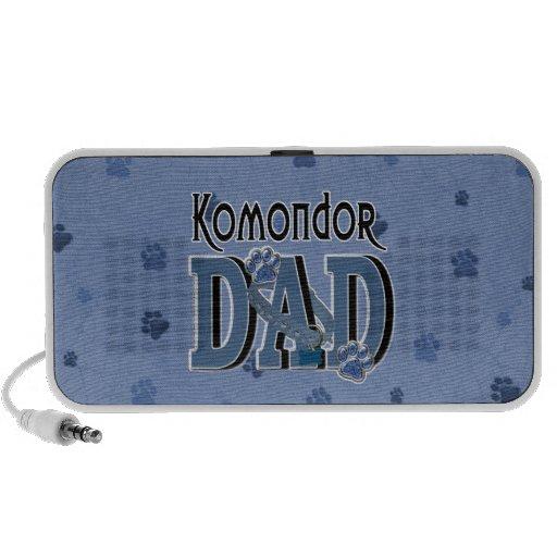 Komondor DAD Laptop Speakers