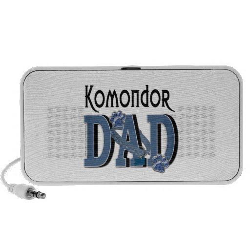 Komondor DAD iPod Speakers