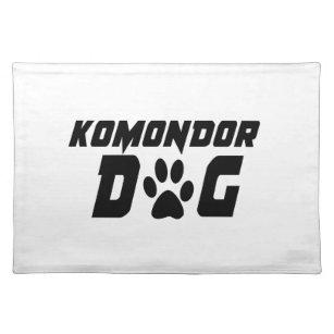 KOMONDOR DOG DESIGNS PLACEMAT