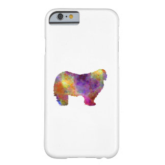 Komondor in watercolor barely there iPhone 6 case