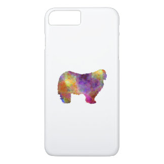 Komondor in watercolor iPhone 8 plus/7 plus case