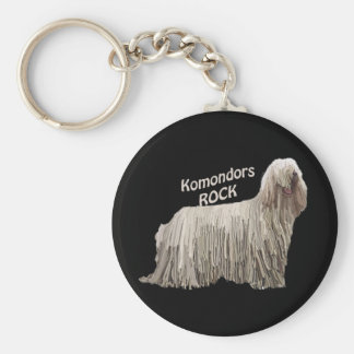 Komondors Rock Key Ring