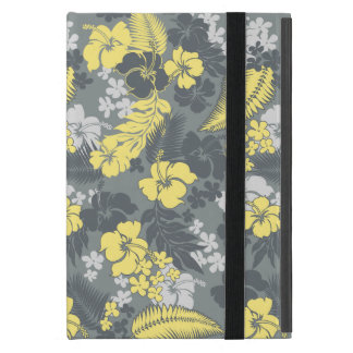 Kona Bay Hawaiian Hibiscus Aloha Shirt Print Cover For iPad Mini