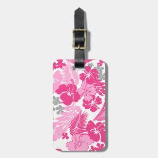 Kona Bay Hawaiian Hibiscus Luggage Tag