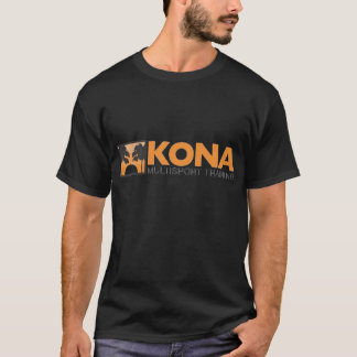 Kona Black w/orange logo (front) T-Shirt