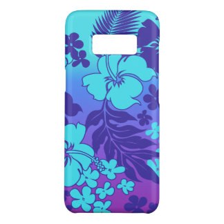 Kona Blend Hawaiian Hibiscus Turq Violet Case-Mate Samsung Galaxy S8 Case