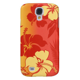 Kona Blend Hibiscus Galaxy S4 Cases